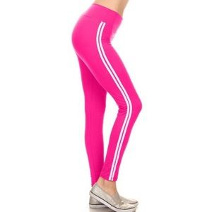 One Size Hot Pink Athletic Leggings (The Best)! 😍